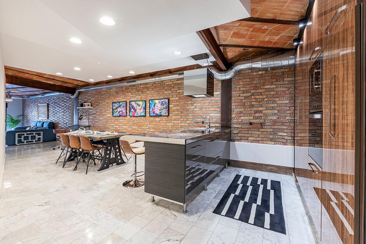 Zona de cocina Rambla 112